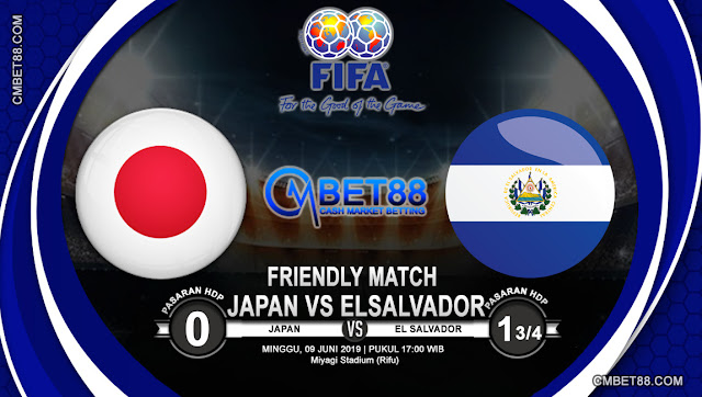 Prediksi Bola Japan VS El Salvador 09 Juni 2019