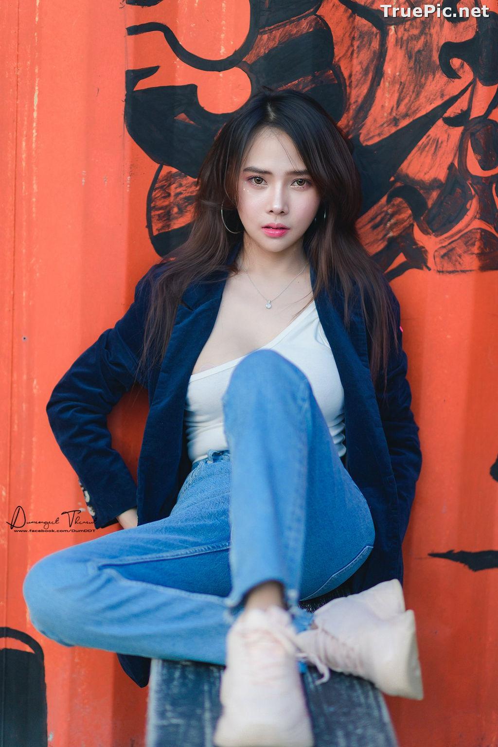 Image Thailand Model - Anusara Thaweesuk - Wild Grass Field - TruePic.net - Picture-7