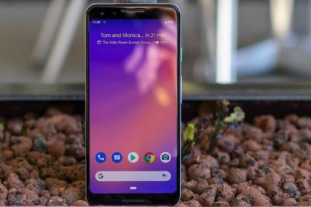 Google Pixel 3 Review Display screen
