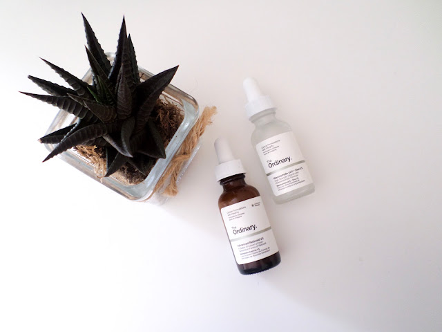 The ordinary niacinamide and zinc advanced retinoid