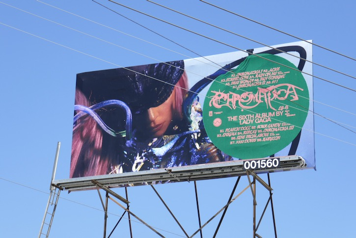Lady Gaga Chromatica billboard