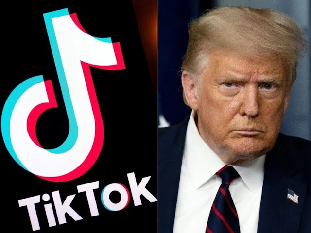 Tik-Tok founder accuses Trump of trying to kill app