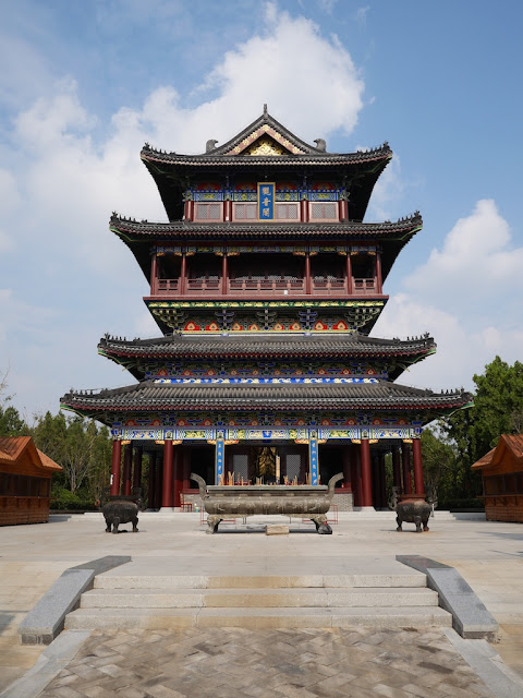 Avalokitesvara Pavilion at Zhulin Temple in Xuzhou