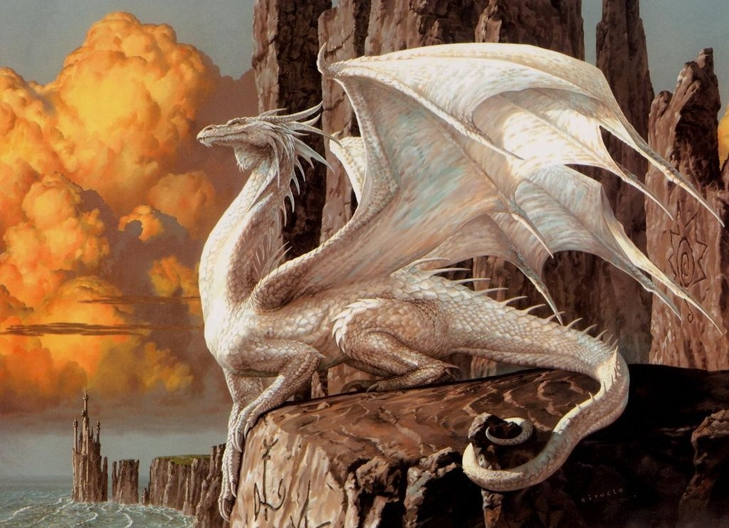 Mythological Dragons: Myth And Magic Creatures