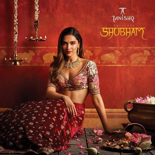 Deepika Padukone Tanishq Shubham