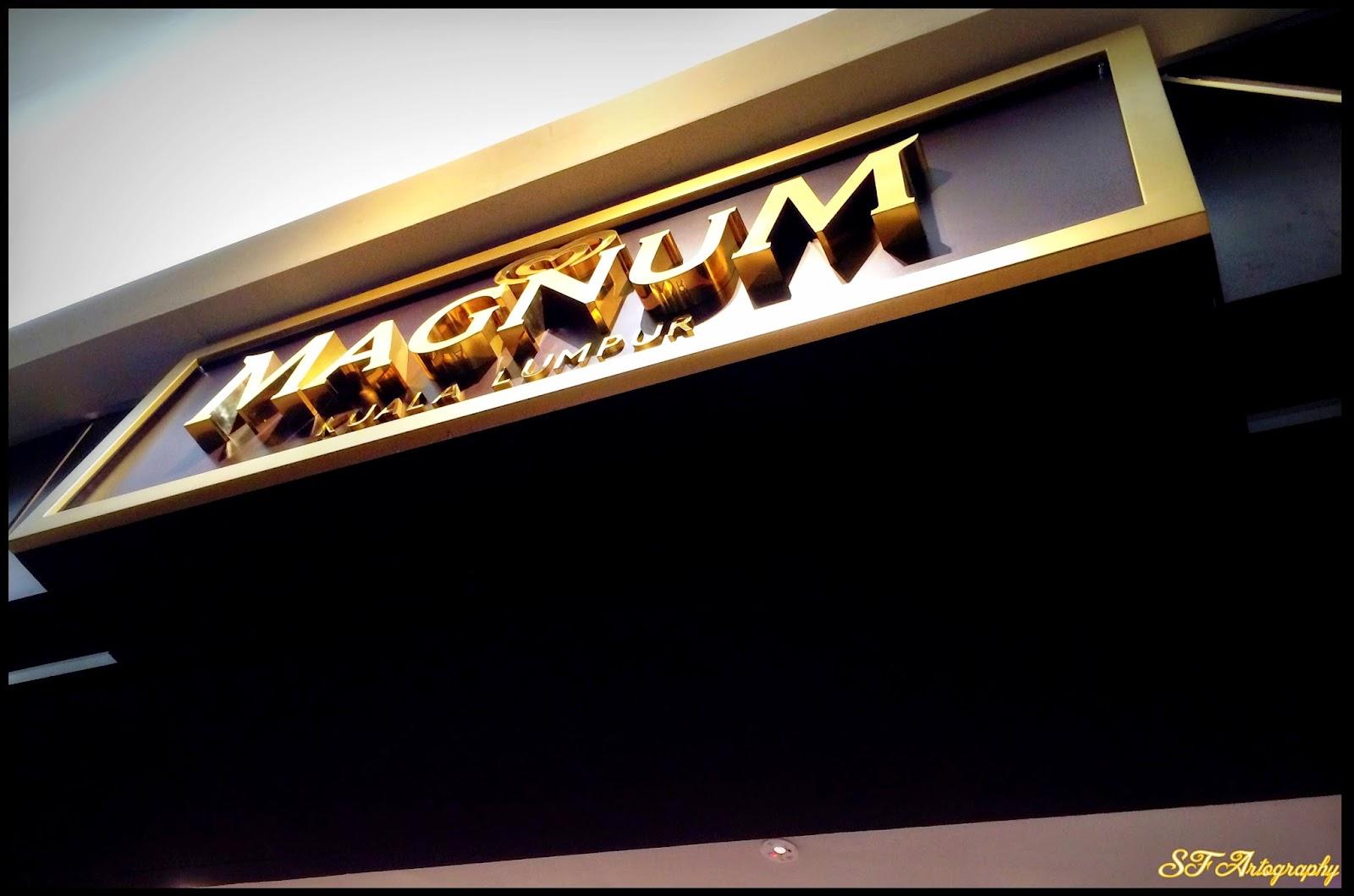 Make My Magnum @ Magnum Cafe Malaysia!
