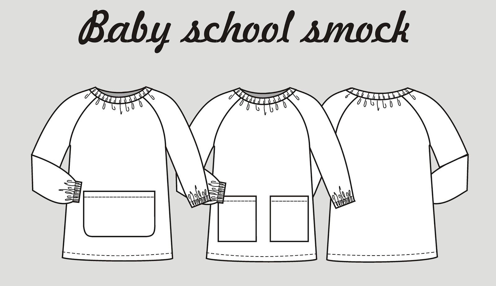 5 consejos para hacer la bata o baby escolar ~ Colours for Baby