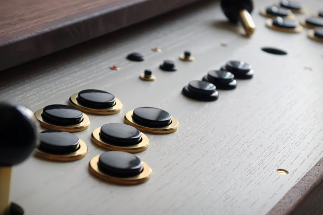 Love Hulten Arcade Coffee Table buttons