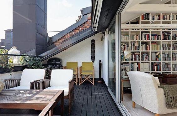 Interior Relooking: Un balcone nel tetto