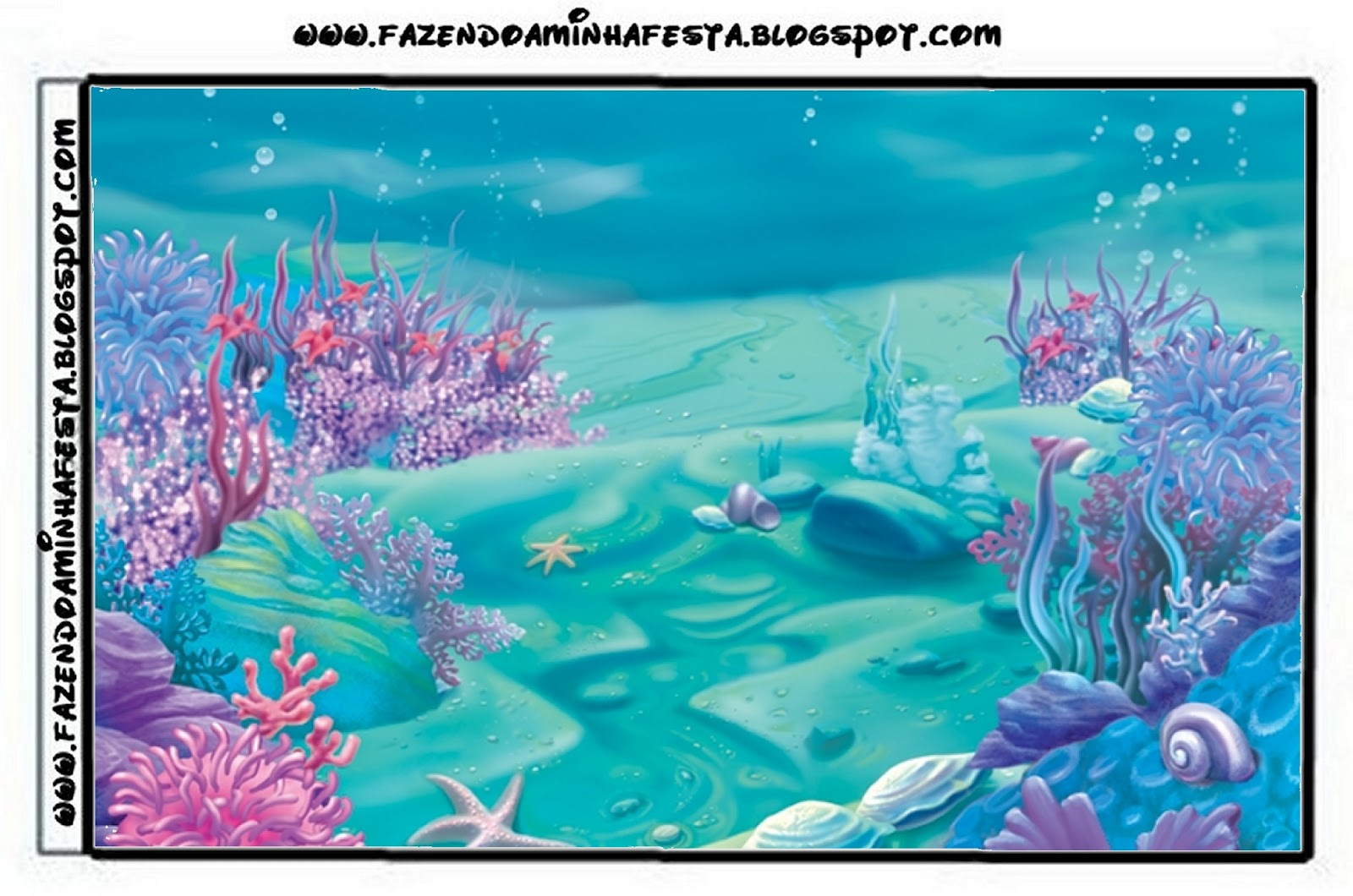 Under The Sea Free Printable Candy Bar Labels