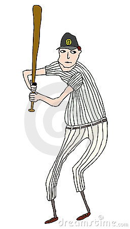 https://www.dreamstime.com/stock-images-baseball-player-image7878134#res487314