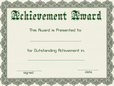 Award Certificate Template For Word Fgqop