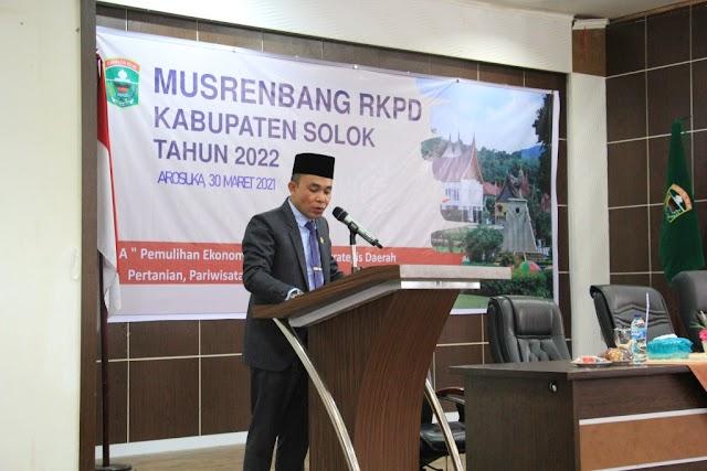 Pemkab Solok Gelar Musrembang RKPD Kabupaten Solok Tahun 2022