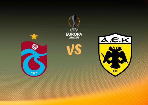 Trabzonspor vs AEK Atenas  Resumen