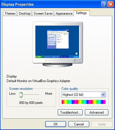 تغيير حجم الشاشة في جميع اصدارات الويندوز