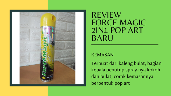kemasan Force Magic 2in1 Pop Art Baru