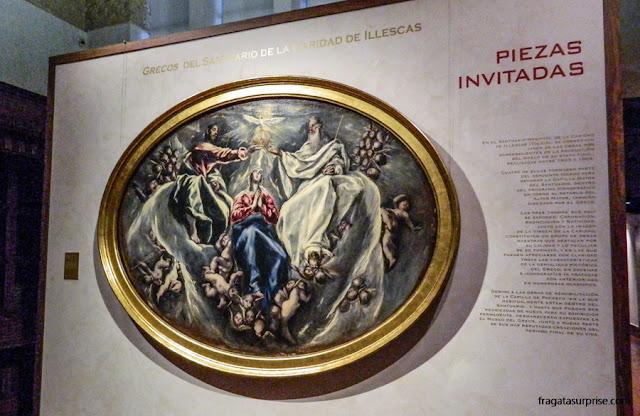 """""""Ascensão de Nossa Senhora"""", quadro de El Greco no Museu Casa de El Greco em Toledo, Espanha"""