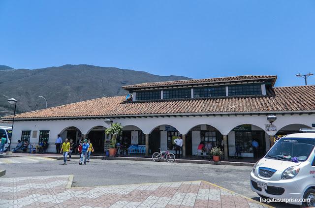 Estação Rodoviária, Villa de Leyva, Colômbia