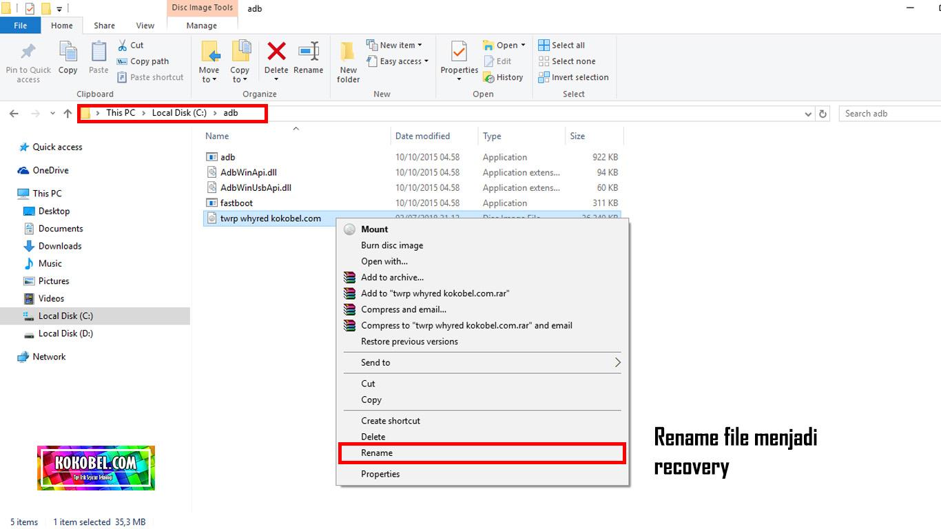 Cara Install / Pasang TWRP Di Redmi Note 5 Pro - Kokobel