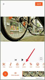 Effect video youcut