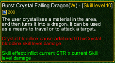 naruto castle defense 6.0 Crystal release Burst Crystal Falling Dragon detail