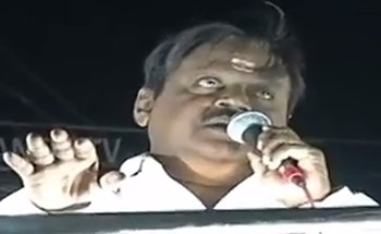"""""""I very well know the troubles faced by Farmers"""" – Vijayakanth 