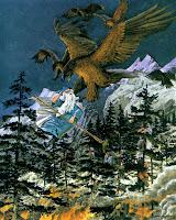 Rescatados por las águilas