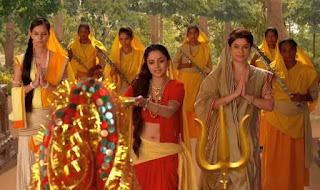 Madirakshi Mundle aka Sita of Siya ke Raam in Saree