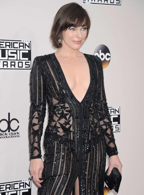 Milla Jovovich – 2016 American Music Awards in Los Angeles
