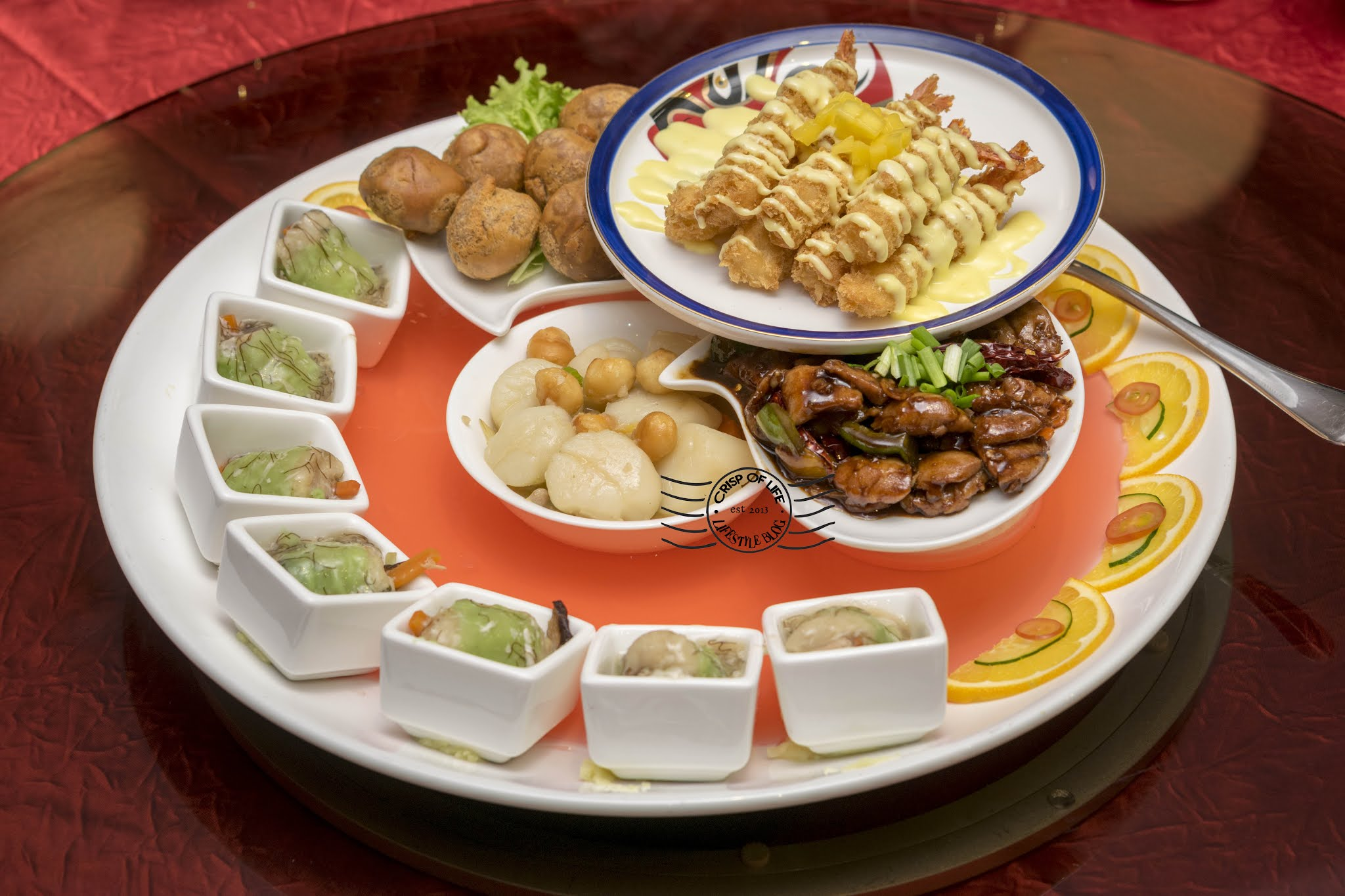 Ixora Hotel Prosperity 8 Course Chinese New Year 2021 Menu - Available for Takeaways Too!