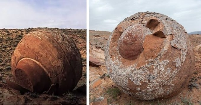 A Valley in Kazakhstan Home to Countless Massive Stone Spheres