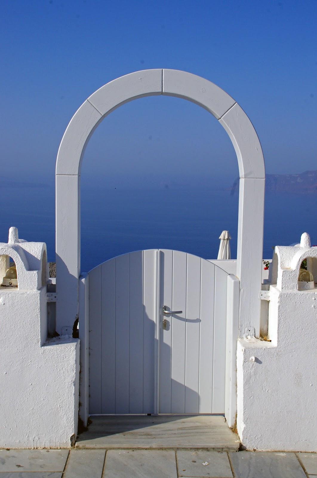 White Doors Oia Santorini