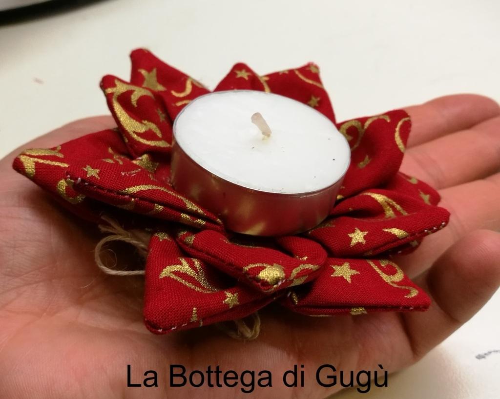 Stella Di Natale In Stoffa.La Bottega Di Gugu Come Fare Un Segnaposto A Forma Di Stella Di Natale