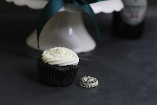 Guinness cupcake
