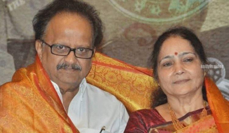 SP Balasubrahmanyam wife Savitri