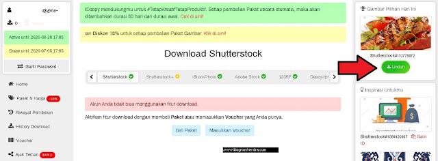 Unduh Gambar di Shutterstock