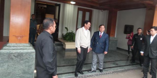 Politisi Golkar Sebut Pertemuan Prabowo dan Luhut Rancang Skenario Politik