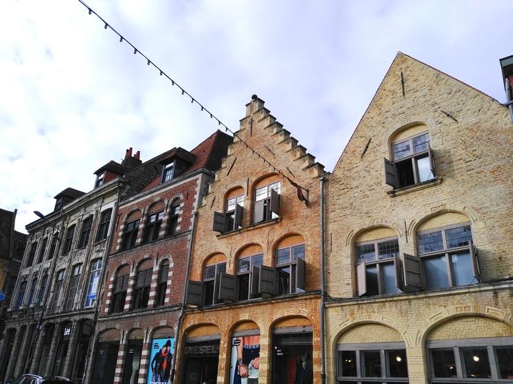 ruelle façades lille