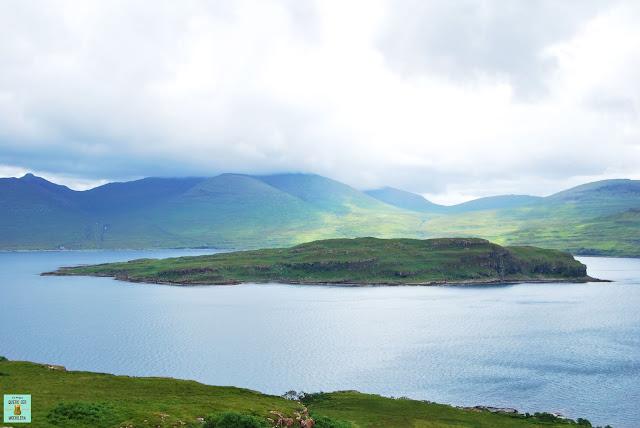 Loch na Keal, isla de Mull (Escocia)