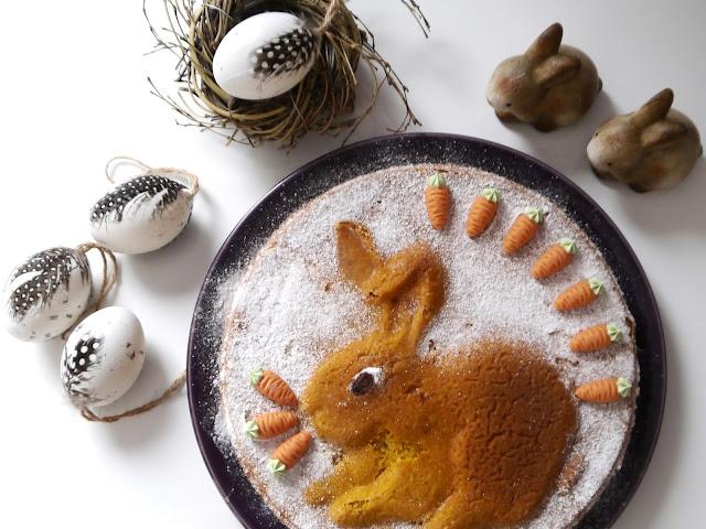Marchewkowe ciasto wielkanocne - bezglutenowe - Czytaj więcej »