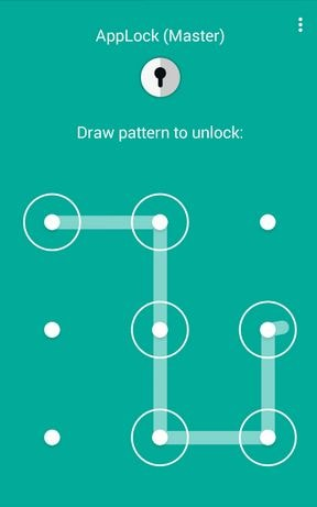 password protect your apps by App Lock Master available on google playstore for Android smartphone