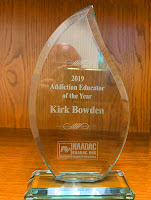 photo of NAADAC award