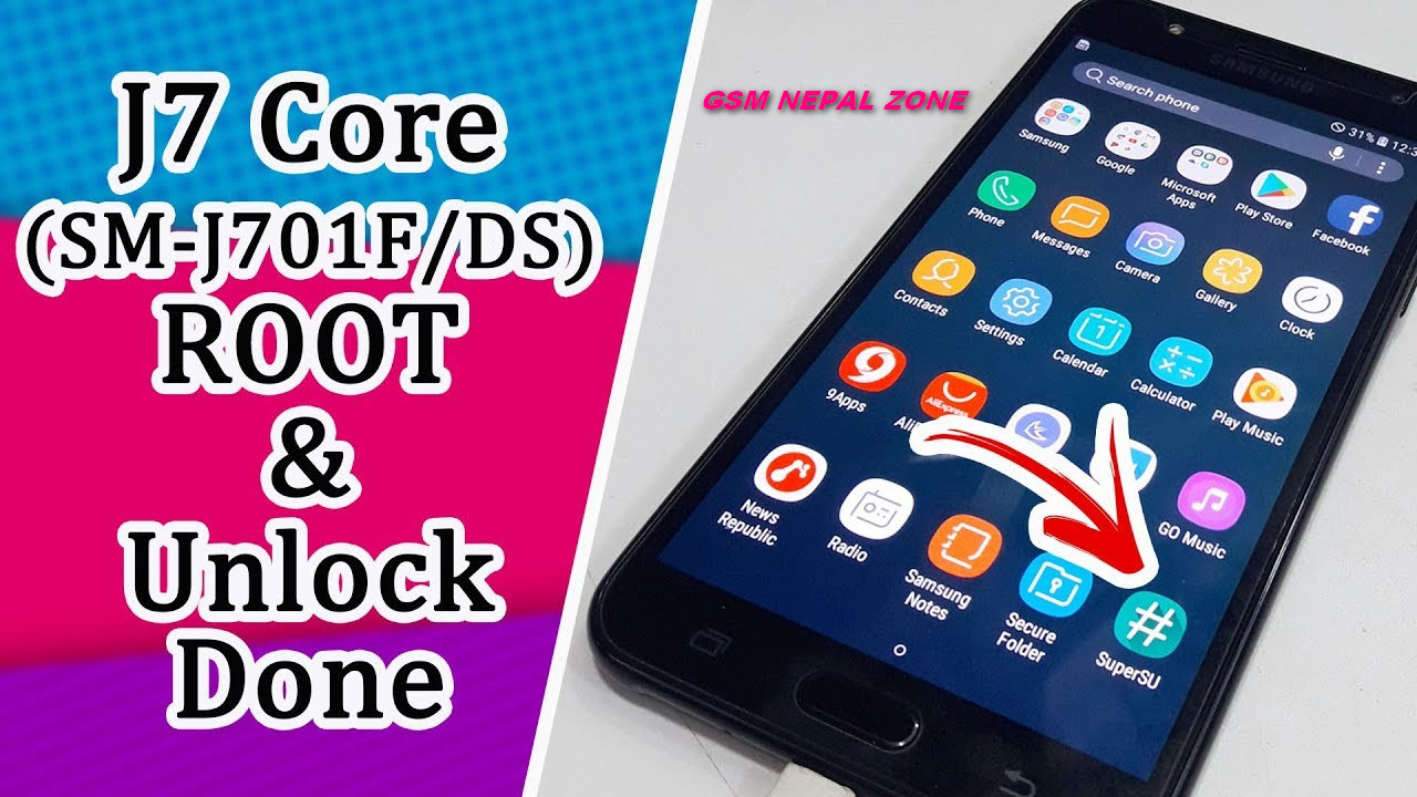 Samsung Galaxy J7 Core (J701F/ DS) 7 0 Root and Unlock Done  - GSM