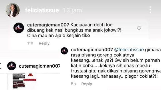 Dibully Usai Ditinggalkan Kaesang, Felicia Tissue Polisikan Netizen Indonesia