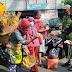 Himbuan Prokes Dan Pembagian Masker Terus Dilakukan Babinsa Kepatihan Wetan Pada Penerapan PPKM di Kota Solo