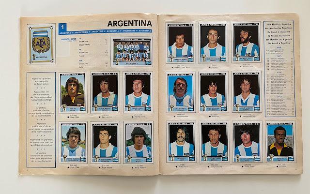 figurine argentina argentina 78