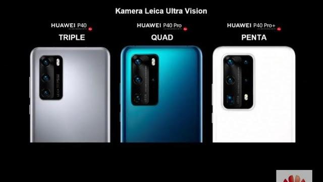 Harga Huawei P40 dan P40 Pro+ yang Diluncurkan Hari Ini