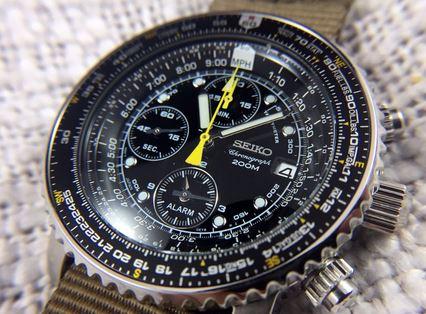 Sebuah jam tangan Seiko berbicara tentang kualitas dan teknologi