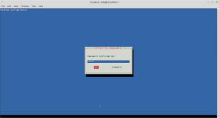 konfirmasi password phpmyadmin