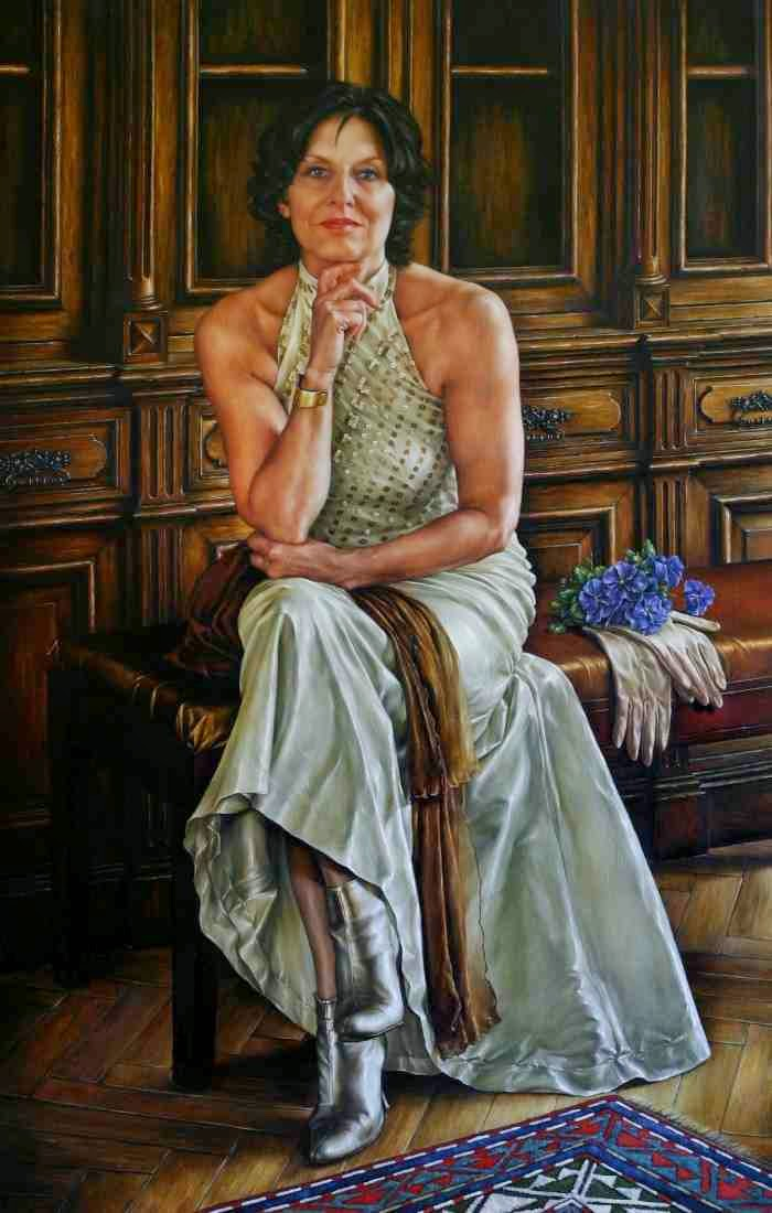 Нидерландская художница. Laura Van Den Hengel